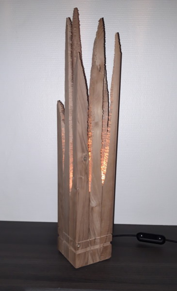 75x13x13 cm ©2018 by Ludovik BOST  TOTEMS Cambium-même