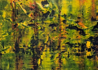 Painting, acrylic, abstract, artwork by Luis Monge