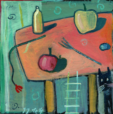 5.1x5.1 in ©1999 by Michael Gebauer