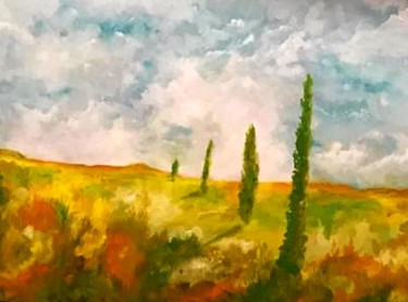 """Painting titled """"Colorado Summer"""" by Frederick Lyle Morris, Original Art, Oil"""