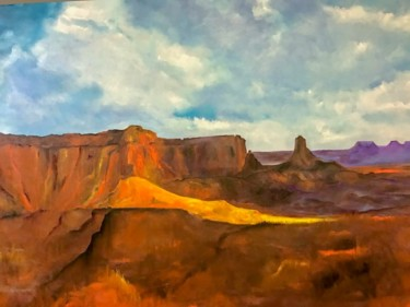 """Painting titled """"Grand View"""" by Frederick Lyle Morris, Original Art, Oil"""