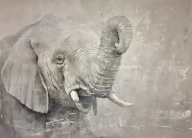 Animal Painting, acrylic, figurative, artwork by Ricardo Pommer