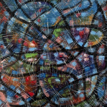 Abstract Painting, oil, abstract, artwork by Raffaele Ciotola