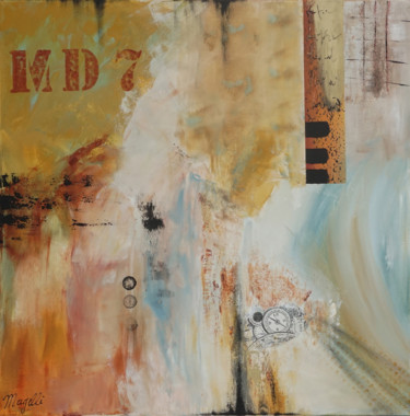 Abstract Painting, acrylic, abstract, artwork by Magelli