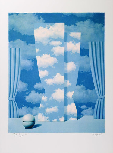 23.6x17.7 in ©2010 by René Magritte