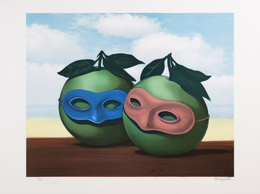 17.7x23.6 in ©2010 by René Magritte