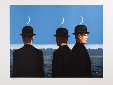 """Printmaking titled """"Le Chef d'Oeuvre ou…"""" by René Magritte, Original Art, Lithography"""