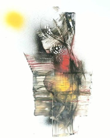 """Painting titled """"We all need to drea…"""" by Mai Erard, Original Art, Spray paint"""