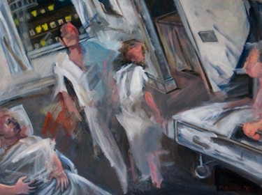 Painting, oil, expressionism, artwork by manrydouglas