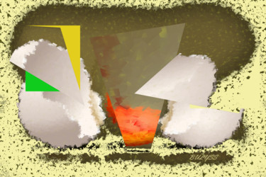 Still life Digital Arts, digital painting, abstract, artwork by Marc Bulyss