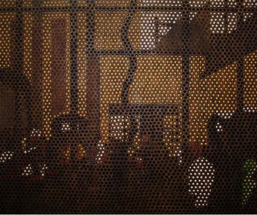 """Painting titled """"""""Prisoners Covenant"""""""" by Marcial, Original Art,"""
