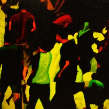 """Painting titled """"""""Before Worse"""""""" by Marcial, Original Art,"""