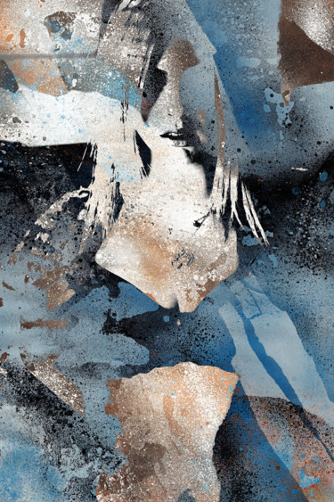 Digital Arts, digital painting, abstract, artwork by Marco Paludet
