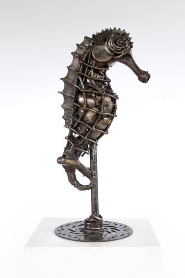 Animal Sculpture, metals, artwork by Mari9art Metal Art Sculpture