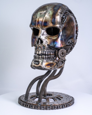 20.9x11.8x15.8 in ©1 by Mari9art Metal Art Sculpture