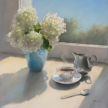 Still life Painting, pastel, classicism, artwork by Maria Vasilevich