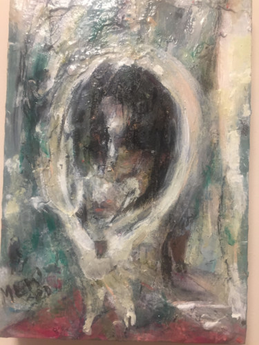 """Painting titled """"'untitled', Convers…"""" by Maria Emilov, Original Art, Oil"""