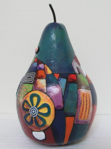 Sculpture, other, naive art, artwork by Marie-Pierre Jan
