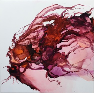 Painting, ink, abstract, artwork by Marine Boa