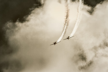 """Photography titled """"Old Airplanes"""" by Marian Bogatu, Original Art, Digital Photography"""