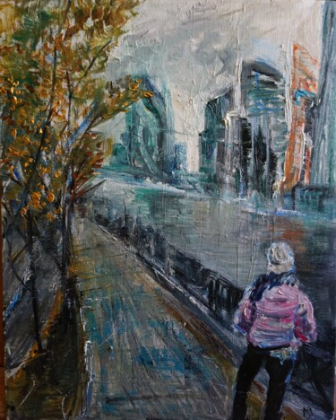 """Painting titled """"Other side"""" by Maria Simbirkina, Original Art, Oil"""