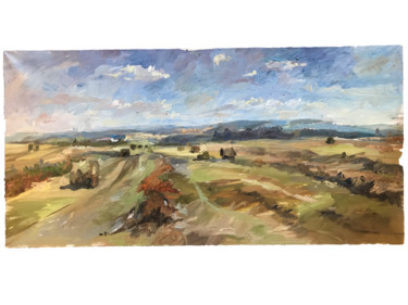 """Painting titled """"Hills"""" by Maria Woroby, Original Art, Oil"""
