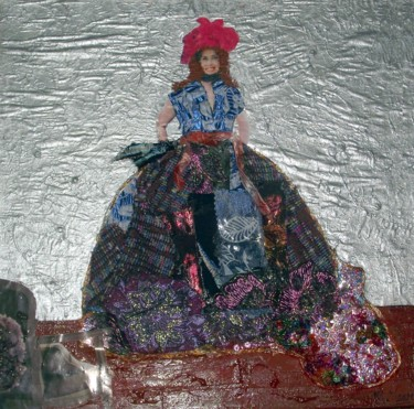 """Collages titled """"Collagène !"""" by Mary Newey, Original Art,"""
