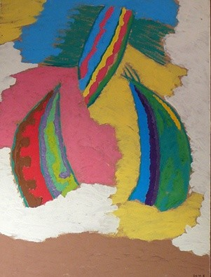 15.8x11.8 in ©1999 by Maryvonne Eche