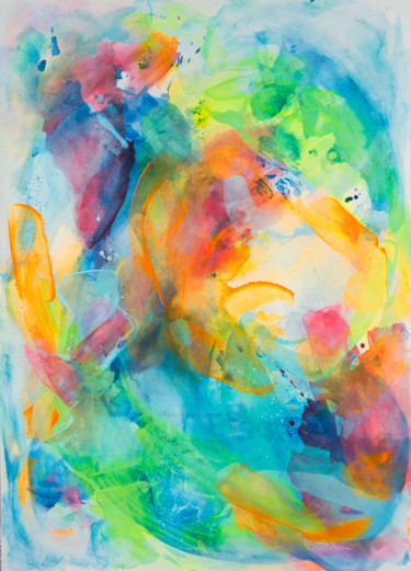 Painting, acrylic, abstract, artwork by Marzia Giacobbe