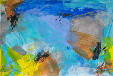 Color Painting, acrylic, abstract, artwork by Marzia Giacobbe