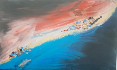 """Painting titled """"Thoughts from above"""" by Mauricias, Original Art, Acrylic"""
