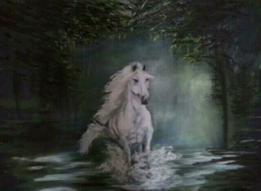 """Painting titled """"Mystery"""" by Mayraart, Original Art,"""