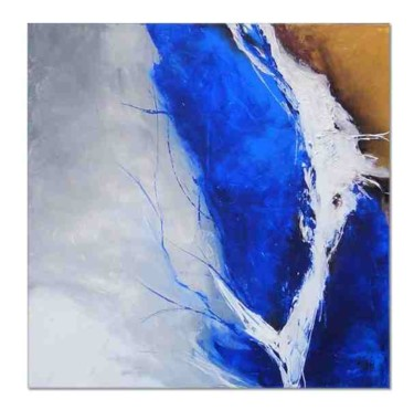 """Painting titled """"Existence I"""" by Isabelle Zacher-Finet, Original Art, Oil"""