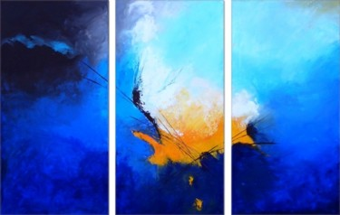 """Painting titled """"Untitled III"""" by Isabelle Zacher-Finet, Original Art, Oil"""