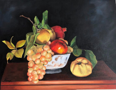 """Painting titled """"Still Life"""" by Melanie Renaux, Original Art, Oil"""