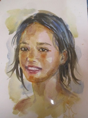 Painting, watercolor, artwork by Mélanie Dupre