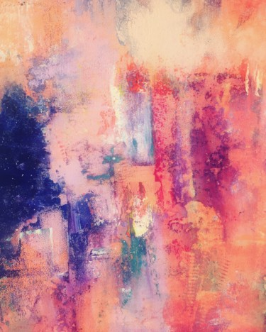Painting, acrylic, abstract, artwork by Mélisande Perdriault