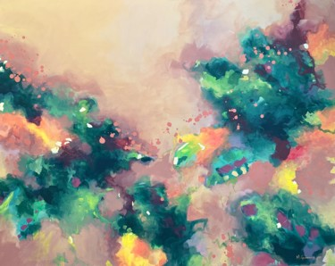 """Painting titled """"Efflorescence"""" by Melissa Goodenough, Original Art, Acrylic"""