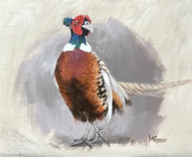 """Painting titled """"Strut"""" by Melissa Gee, Original Art, Oil"""