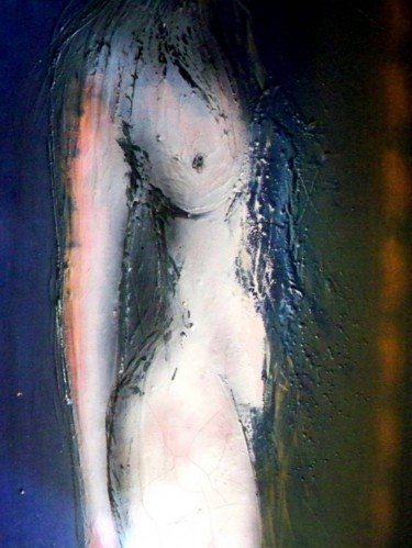 """Painting titled """"Just a piece of her"""" by Mendelart, Original Art, Oil"""