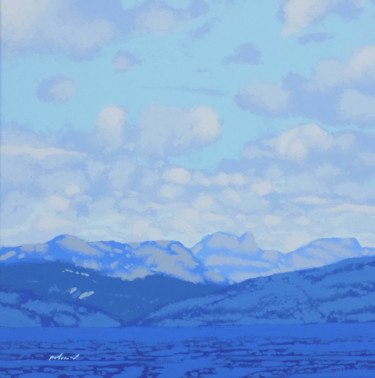 """Painting titled """"Loch Long to Arroch…"""" by Malc, Original Art, Acrylic"""