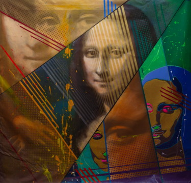 """Painting titled """"Untitled (Mona Lisa…"""" by Michael Andrew Law, Original Art, Acrylic"""