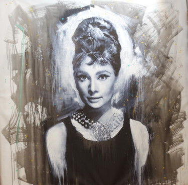 """Painting titled """"Untitled (Audrey He…"""" by Michael Andrew Law, Original Art, Acrylic"""