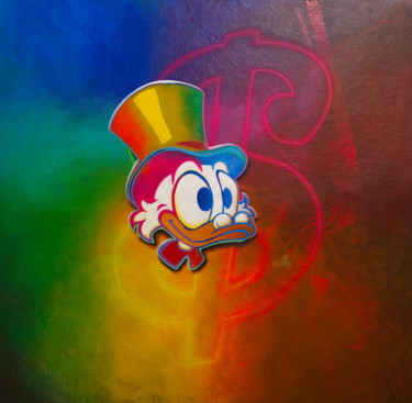 """Painting titled """"Untitled (Scrooge M…"""" by Michael Andrew Law, Original Art, Acrylic"""