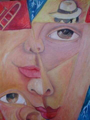 16.1x13 in ©2003 by Nydia Eugenia