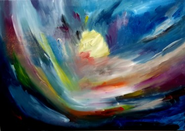 Painting, acrylic, artwork by Miguelle Mahuton