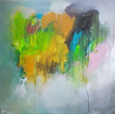 Color Painting, acrylic, abstract, artwork by Emily Starck