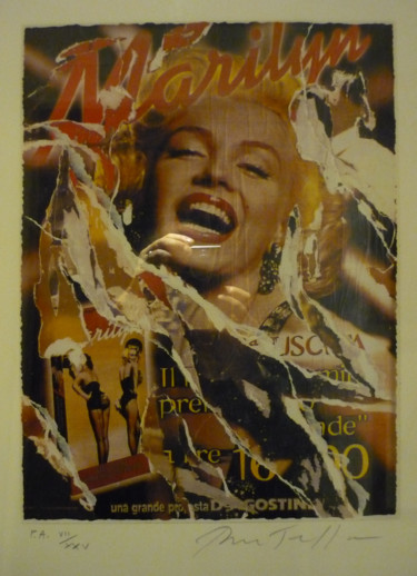 19.7x15.4 in © by Mimmo Rotella
