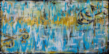 Painting, acrylic, abstract, artwork by Mk Anisko