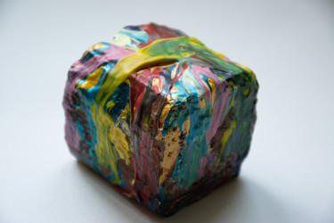 Everyday Life Sculpture, acrylic, conceptual art, artwork by M Mystery Artist